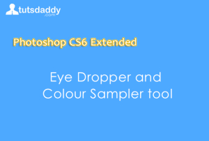 eye dropper and color sampler tool