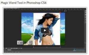 magic wand tool in photoshop cs6
