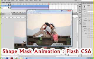 Shape Mask ANimation in Flash CS6 Tutorial