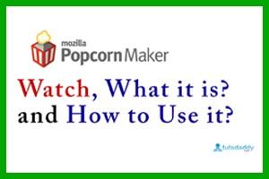Mozilla Popcorn Maker