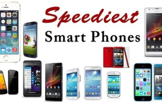 Speediest SmartPhones of 2013